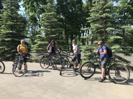 Trakų jaunimo laisvalaikio ir turizmo centro dviratininkai