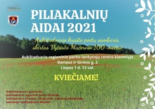 """""""Piliakalnių aidai 2021"""""""