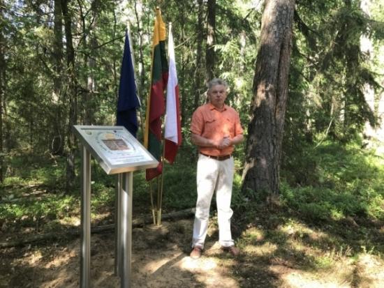 Trakų rajono skyriaus vadovas Jaroslav Narkevič